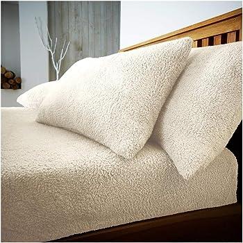 Hendem® Teddy Pair Pillowcases Warm Cosy Plush Modern