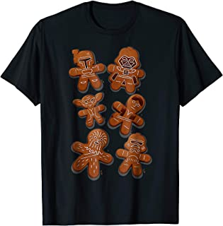 Star Wars Christmas Ginger Bread Wars Graphic T-Shirt