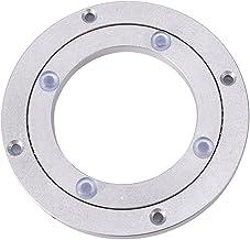 Placa Giratoria Giro Turntable Placa Giratorio Plataforma de aluminio para mesa de comedor(4Inch)