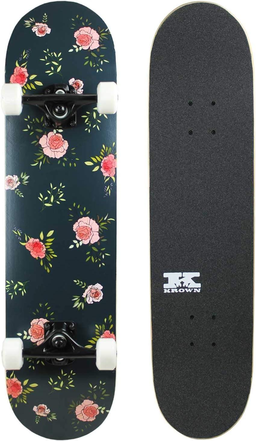 KPC Complete Skateboard Under blast sales - Pro latest Maple Style Quality Deck 7-Ply
