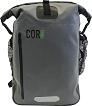 Waterproof Backpack - by Cor Surf   With Padded Laptop Sleeve   25L and 40L   Dry Bag Backpack for Travel, Cycling, Camping, Hiking, Kayak, Rafting or Surf