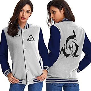 Zhanchuntao Women AFI Logo Sport Coat