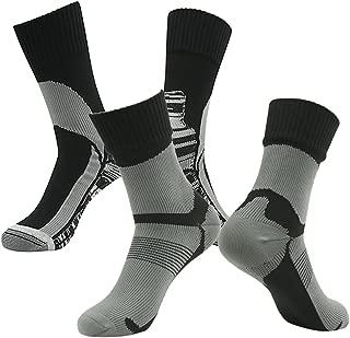 100% Waterproof Hiking Socks, [SGS Certified] RANDY SUN Unisex Ventilated Breathable Skiing Trekking Sock