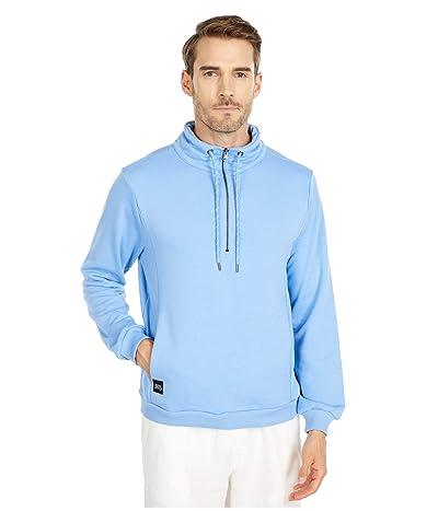 NATIVE YOUTH Monsanto 1/2 Zip Sweater (Blue) Men
