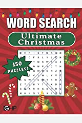 Ultimate Christmas Word Search: Word Find Puzzle Book for Adults and Kids Paperback