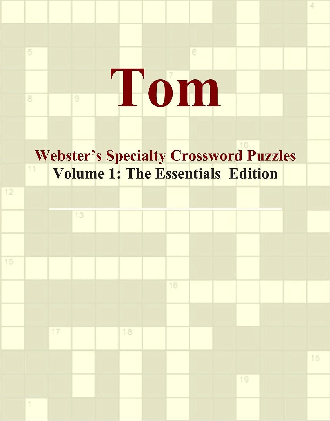 深いハンマー層Tom - Webster's Specialty Crossword Puzzles, Volume 1: The Essentials Edition