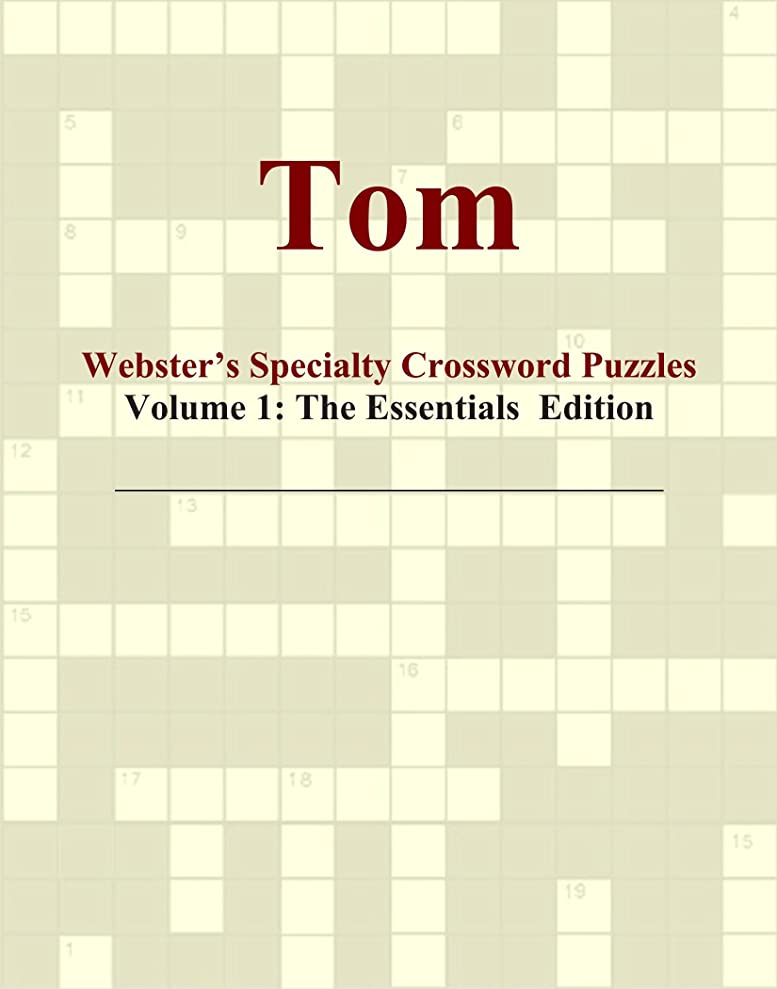請う未亡人本物のTom - Webster's Specialty Crossword Puzzles, Volume 1: The Essentials Edition