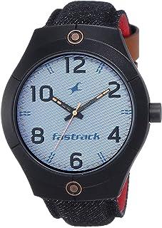 فاستراك ساعة رسمية رجال انالوج بعقارب نايلون - 3191AL03