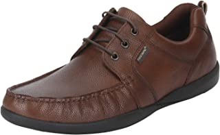 Red Tape Men's Tan Leather Formal Shoes-8 UK (42 EU) (RTE1843)