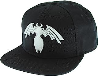 info for e4a18 7284e Marvel Comics Venom Symbiote Logo Licensed Adjustable Snapback Cap Hat Black