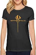 Crtsyins Inyin Women's Crew Neck T-Shirt T Shirt Sport/Party Cotton Tee