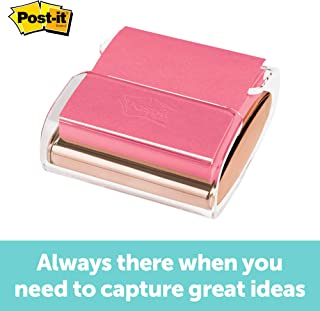 Post-it Pop-up Note Dispenser, Rose Gold, 3 Inches x 3 Inches, 1 Dispenser/Pack (WD-330-RG)