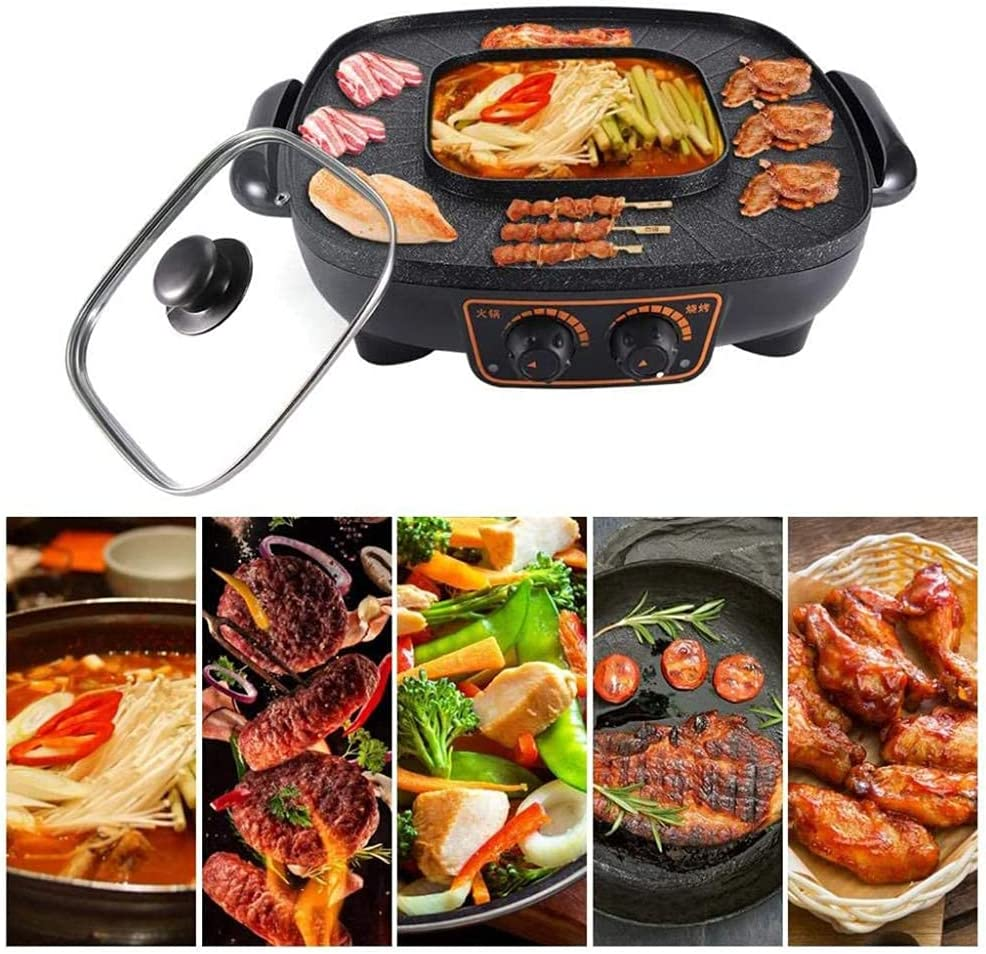 WFY Import Indoor Bargain sale Camping Grill Hot Plate Pot Multifunctional Elect