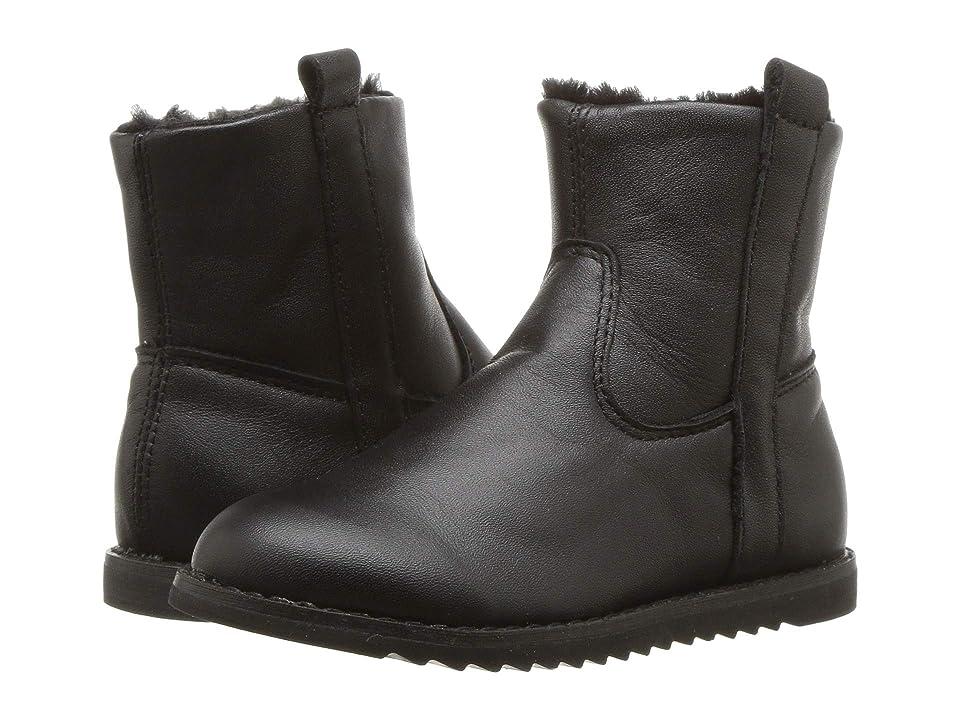 Old Soles Lounge Boot (Toddler/Little Kid) (Black/Black) Girl