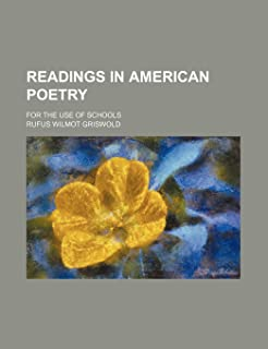 Readings in American Poetry; For the Use of Schools