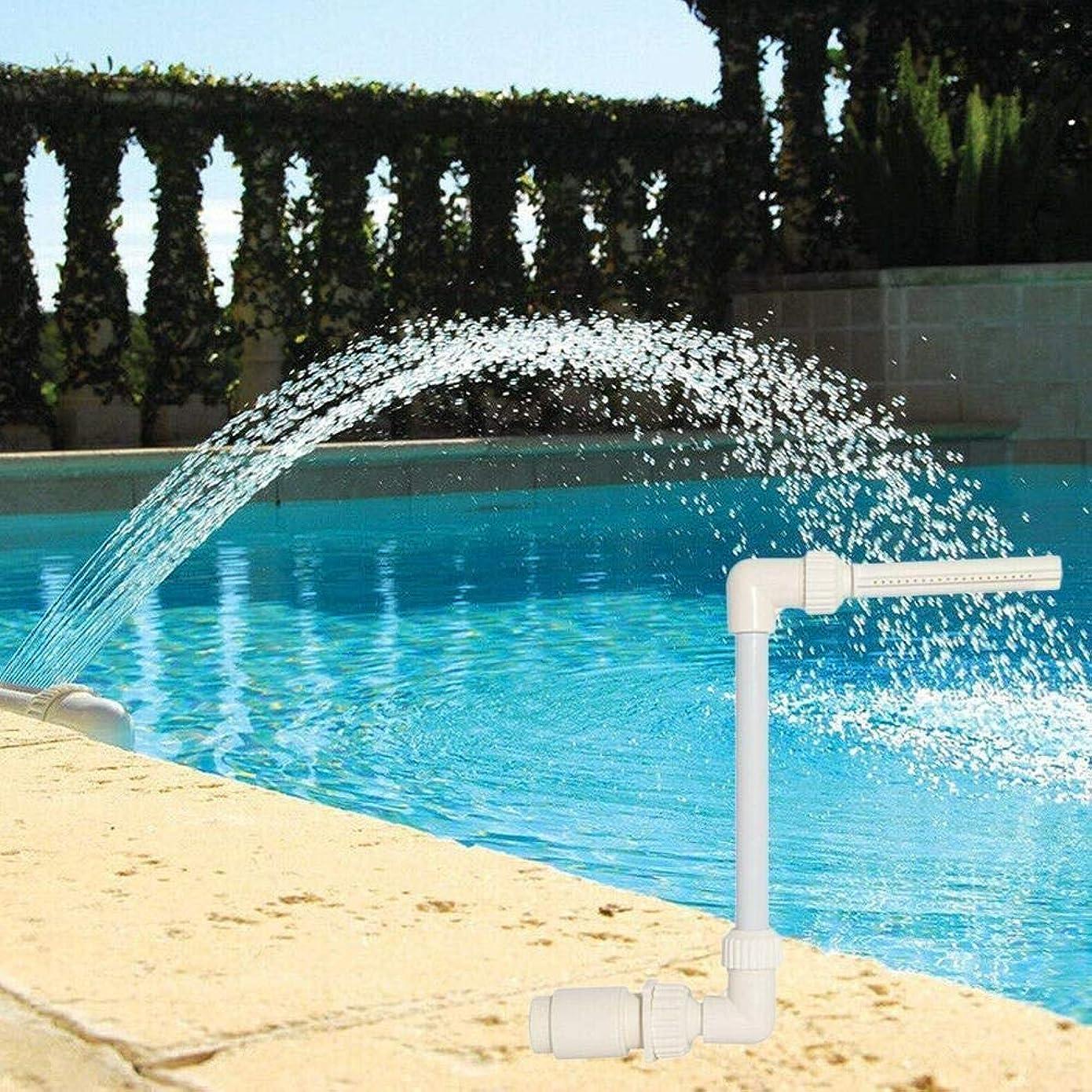 治安判事社会主義者ホイッスル散水ホース 滝の泉のクールの温度ウォータースポーツアジャスタブルスプレースイミングプール方向アクセサリーR G9H5「」1.5にふさわしいスレッド ZHQJP