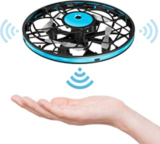Hand Operated Drones for Kids Toddlers Adults - Mini LED Hands Drone for Kids Small UFO Flying Ball Drone Toys for Kids 6 7 8 9 10 11 12 and Up Years Boys and Girls Gift
