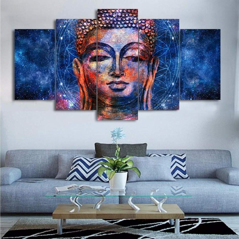 en linea Wmbz HD Impreso Moderno Arte De La Parojo Pintura sobre sobre sobre Lienzo 5 PanelImagen Modular Decoración del Hogar Posters Marco Sala De Estar-20X35Cmx2 45Cmx2 55Cmx1  auténtico