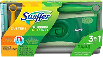 GENUINE Swiffer Sweeper Dry & Wet Cleaning Kit Free Post Superfast Shipping!!