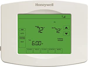 Honeywell Home Home RTH8580WF Wi-Fi Touchscreen 7-Day Programmable Thermostat