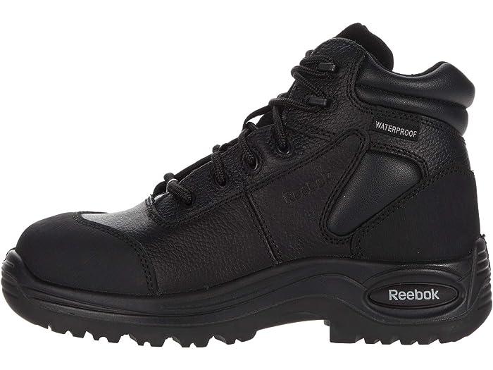 M Reebok Work Trainex 6 Waterproof Puncture Resistant Sport Boot Black 2 8 B