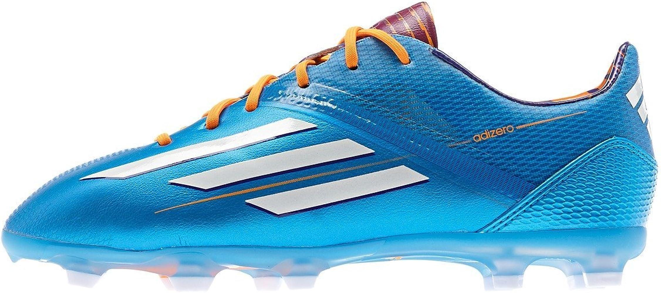 Amazon.com | adidas F50 Adizero TRX FG - (Solar Blue/Running White ...
