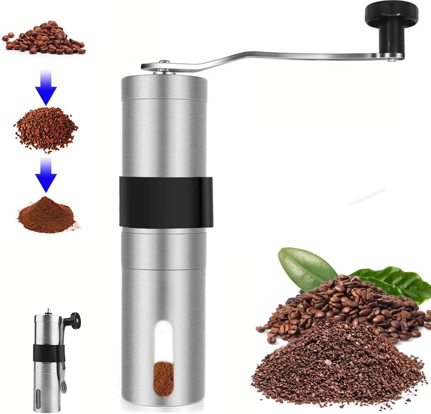 Huining 67% OFF of fixed price Manual Coffee Grinder - Duty ...
