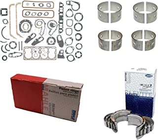 Continental F163 F-163 2.7L F4163 PF163 Rering engine Rebuild Kit (ALL STD Sizes)