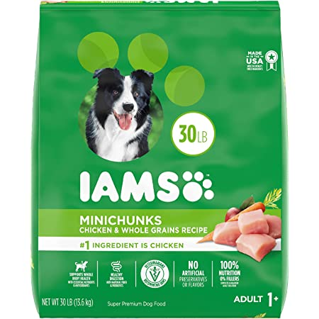 IAMS Minichunks Adult Dry Dog Food, Chicken