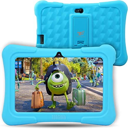 [Upgraded] Dragon Touch Y88X Plus Kids Tablet, 7 inch Display, Kidoz Pre-Installed with Disney Content (More Than $80 Value) (Android 7.1 OS) (b.Blue)