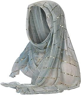 iLXHD Women Islamic Prayer Turban India Hat Muslim Ruffle Cancer Chemo Beanie Turban Wrap Cap Scarf Shawl