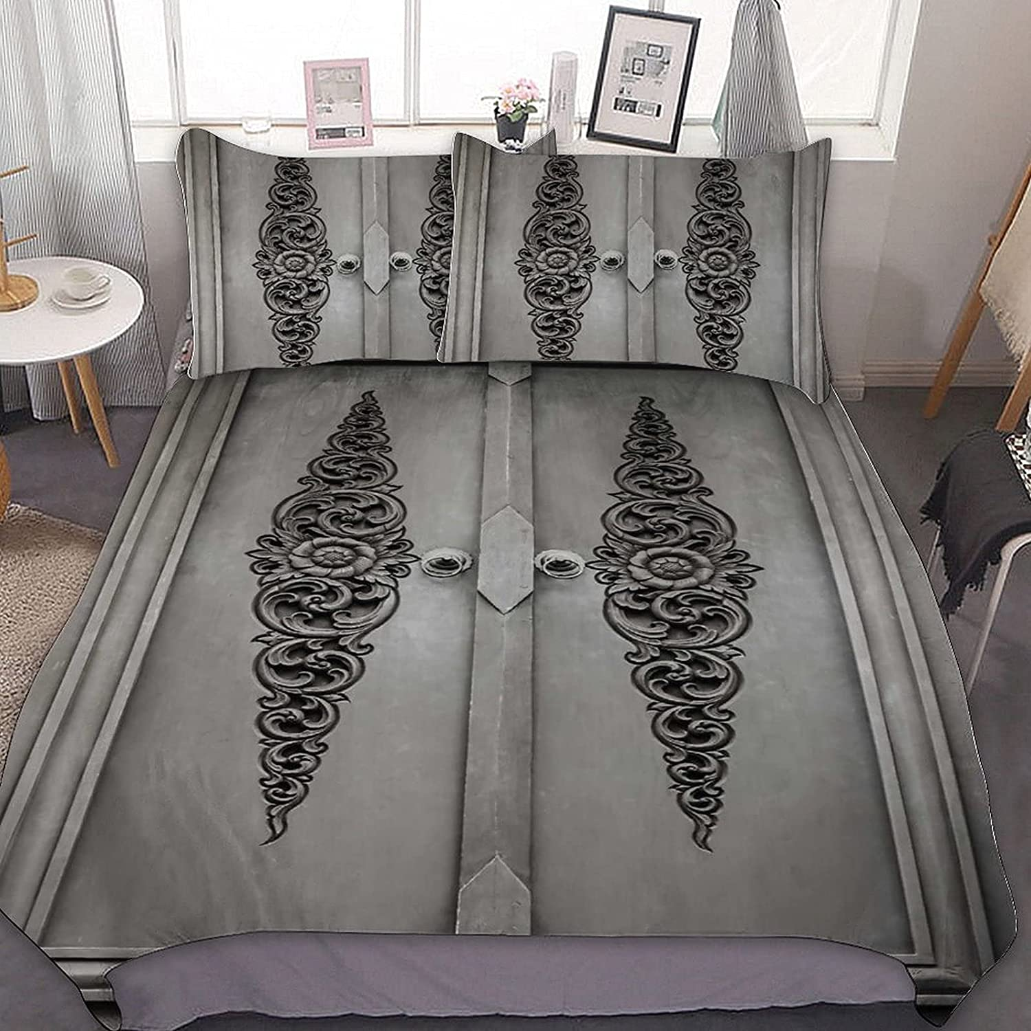 Antique Doors Cheap sale The Three-Piece Super-Fiber Bed is and Soft Light Omaha Mall