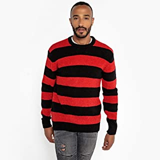 La Redoute Collections Mens Crew Neck Chunky Knit Loose-Fit Jumper/Sweater