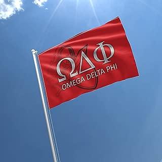 Best omega delta phi flag Reviews