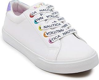 Nautica Girls Steam Missey Kids Fashion Sneaker Low-Top Lace Up Sneaker (Little Kid/Big Kid)