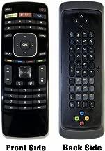 USBRMT New VIZIO Replacement Remote XRT301 (XRT110 3D Keyboard Version) for Vizio Smart TV with Amazon Netflix & Vudu Keys