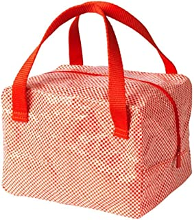 IKEA 365+ Lunch Bag Red 703.934.38 Size 8 ¾x6 ¾x6 ¼