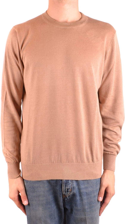 BRUNELLO CUCINELLI Men's MCBI35631 Beige Linen Sweatshirt
