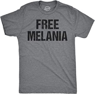 Mens Free Melania Funny Political President USA White House T Shirt
