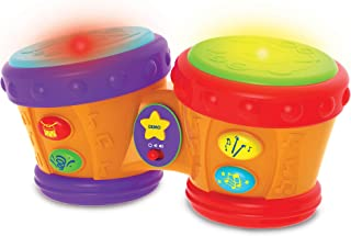 The Learning Journey Early Learning – Little Baby Bongo Drums – Electronic Musical Toddler Toys & Gifts for Boys & Girls A...