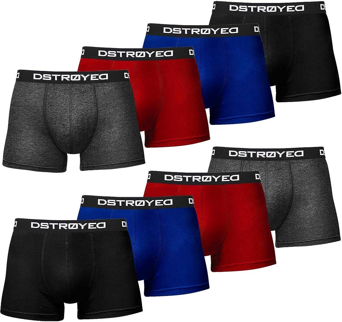 Boxer da uomo taglie S 5XL confezione da 8 pezzi DSTROYED /®