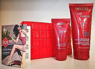 BECOS Travel Set On the road Pochette met 2 producten viso en lichaam