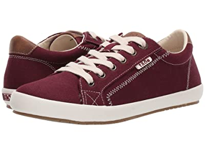 Taos Footwear Star Burst (Burgundy/Tan) Women
