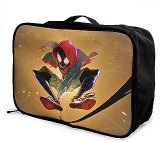 Spider-Man Travel Duffel Bag Waterproof Fashion Lightweight Large Capacity Portable Luggage Bag