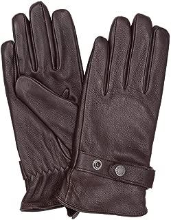 Aigle Deer Gloves Large Dark Brown