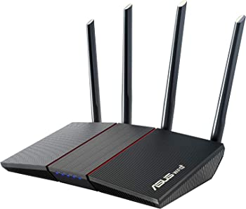 Asus RT-AX55 AX1800 Dual Band WiFi 6 802.11ax Gigabit Router
