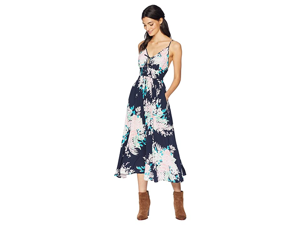 Yumi Kim Lovers Rock Dress (Mystic Floral Navy) Women