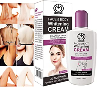 Best whitening face and body cream Reviews