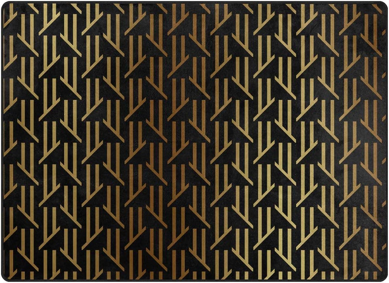 FAJRO Special gold Rugs for entryway Doormat Area Rug Multipattern Door Mat shoes Scraper Home Dec Anti-Slip Indoor Outdoor