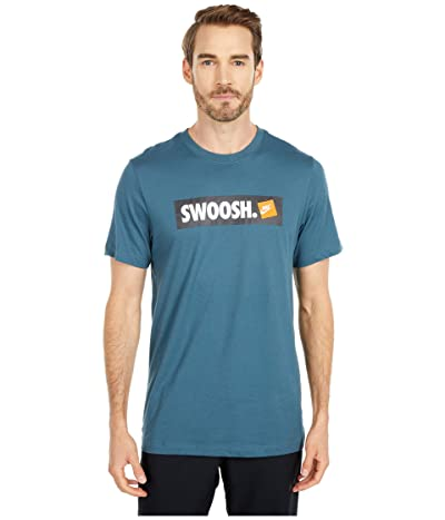 Nike NSW T-Shirt Swoosh Bumper Sticker (Ash Green) Men
